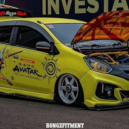 "JF LUXURY PROUD LOVERS  Big Special Thanks to : @rheva_jaya  Starform By JF LUXURY  16"" (Staggered) 8x100/114.3  #Repost from : @bongzfitment.id  #agyaayla #agyaaylaholic #agyaaylacommunity #agyaaylaindonesia  Follow us : @jf_luxury_the_wheel_group @jf_luxury @breyton_wheels_indonesia @spa_wheels @modelart_wheels ____________________________ #JFLuxurywheels #JFLuxury #samwheels #toodamnlowindonesia #jfluxuryproudlovers #bongzfitment #staticnut #modifikasi #staticnut #indostance #indonesiamodifikasi #indofitment #hawknpoke #ladyonwheels #jakartaworks #standinglowstanceindonesia #carcommunities #apactindonesia #velg #speedtuner_indonesia #stucklow  www.jfluxury.com Official line : @jf_luxury (dgn @)"