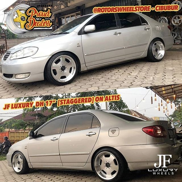 Model : DH  Size : • 17x8.5/9.5 | 8x100/114.3  By JF Luxury