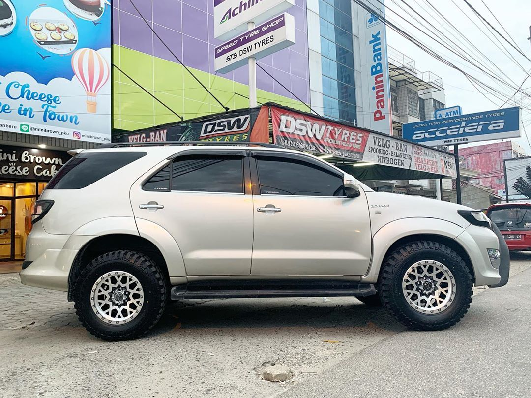 Toyota Fortuner On Spocket By JF Luxury