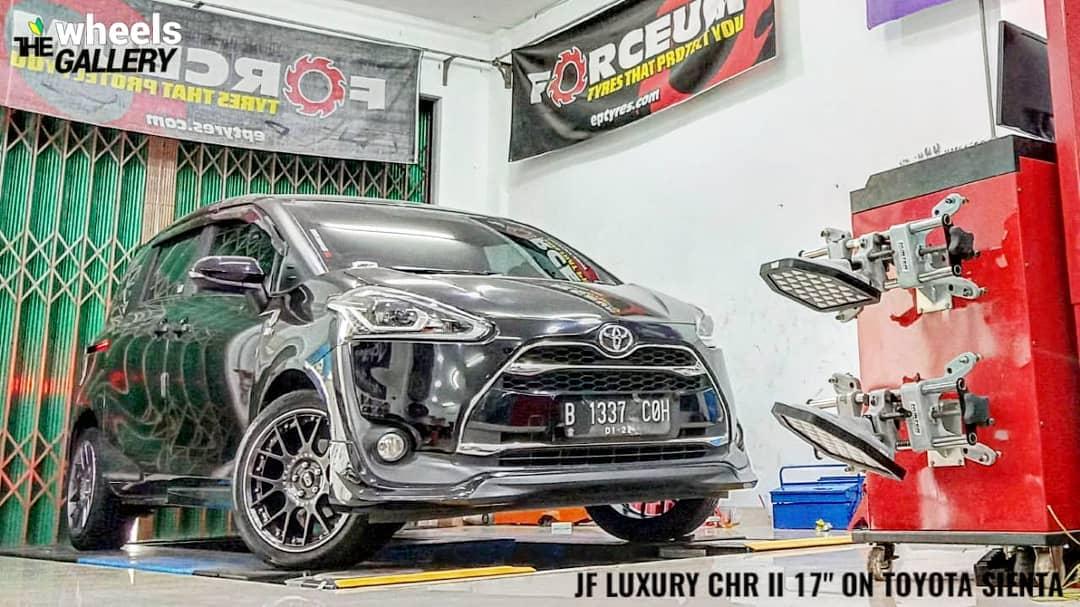 Toyota Sienta On CHR II By JF Lucury Dealer Twg
