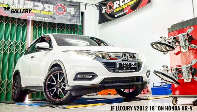 Honda Hrv On V2012 18x8.0 5x114.3 By JF Luxury