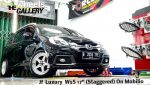 Honda Mobilio On Ziestance W5S 17x7.5/8.5 8x100/114.3 By JF Luxury
