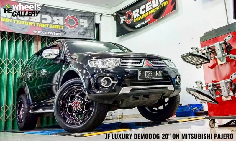 Mitsubishi On Demodog 20x.0 6x139.7 By JF Luxury