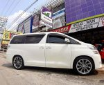 Toyota Vellfire On CIGANTES 20x8.5/9.5 5x114.3 +40 +38